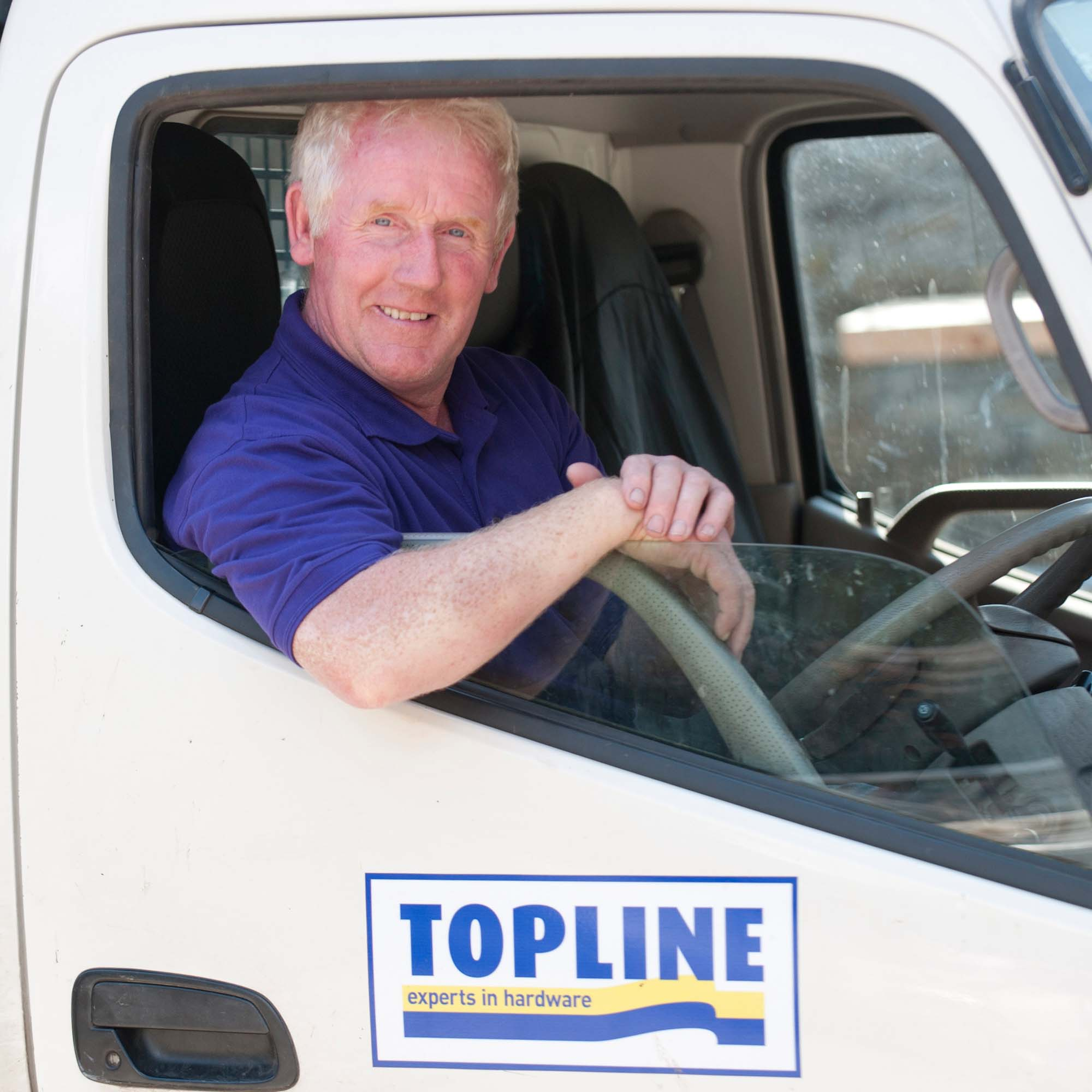 Director and Lorry Driver - Mikie Osborne
