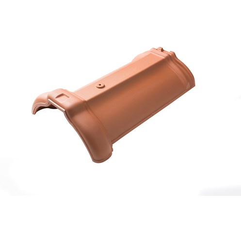 Tegral  Clay Universal Ridge Tile - Red