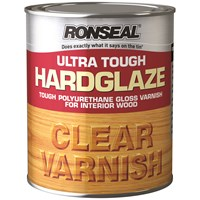 Ronseal  Ultra Tough Varnish Gloss - 750ml