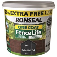 One Coat Fencelife 4 Litre + 25% Extra Free