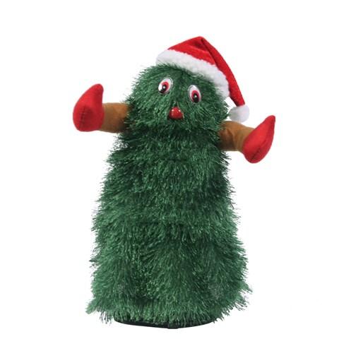 jingles musical dancing christmas tree 30cm