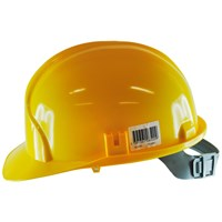 Safeline  Yellow Safety Helmet With Head Support