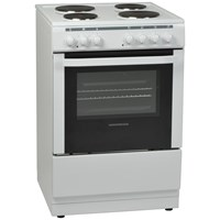 NordMende  White Freestanding Single Electric Cooker - 60cm