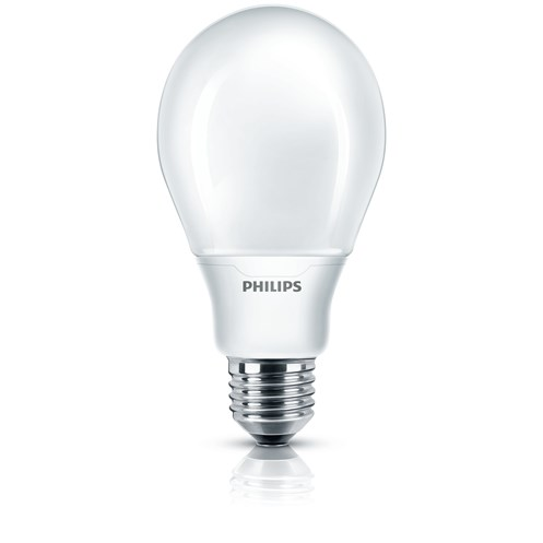 Philips Softone E27 Energy Saver Light Bulb - 12W