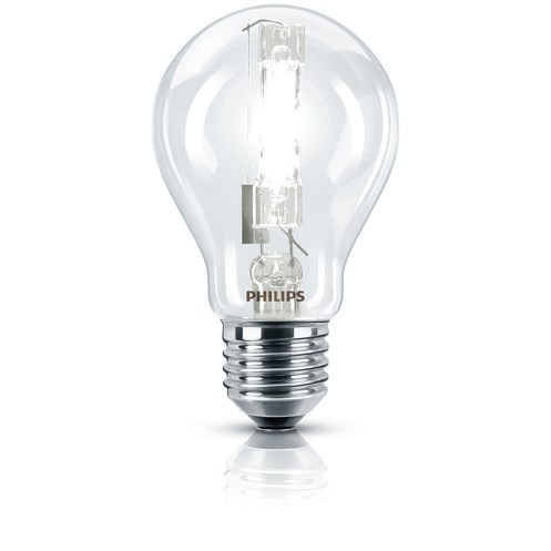 Philips EcoClassic E27 A-Shape Light Bulb - 42W