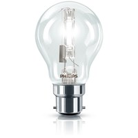Philips EcoClassic B22 Halogen Standard Light Bulb - 28W
